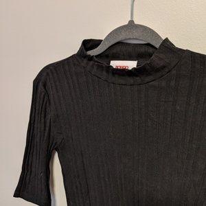 Bongo Black MockNeck T-shirt
